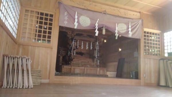 阿智神社奥宮本殿