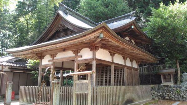 桐林八幡社拝殿
