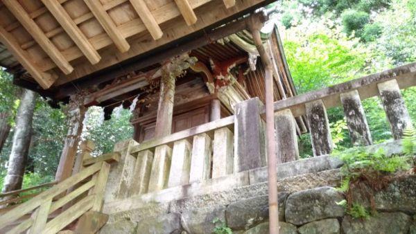 桐林八幡社本殿