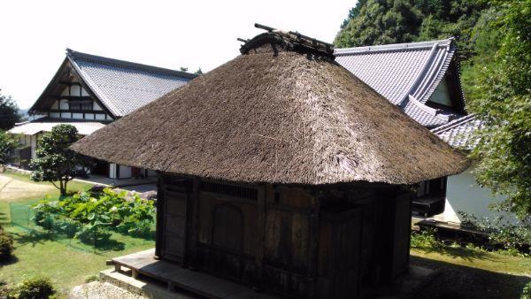 観音堂屋根