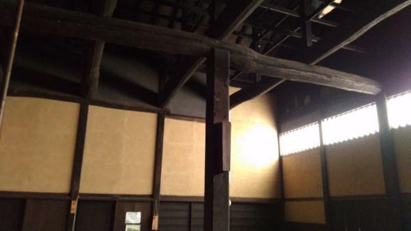 庫裏の大黒柱