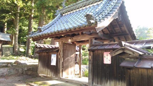 法住寺の門