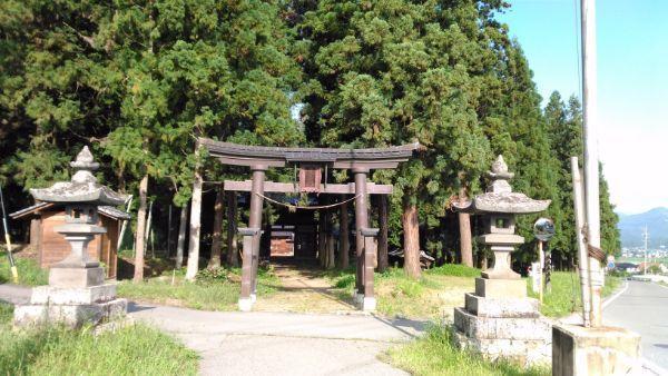 安曽神社鳥居