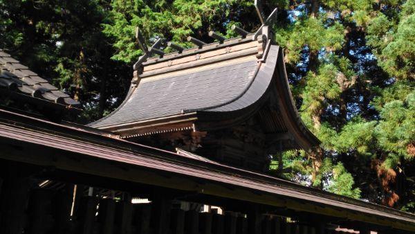 安曽神社本殿