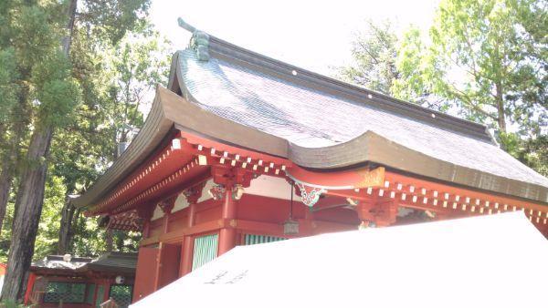 生島足島神社拝殿