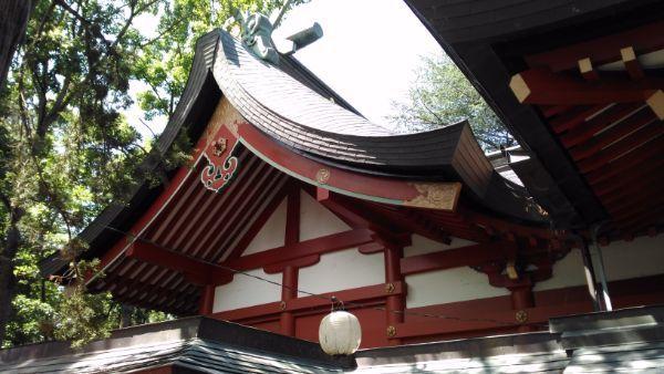 生島足島神社本殿