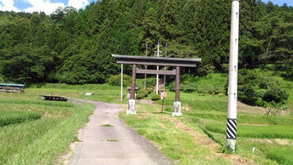 手塚八幡社鳥居