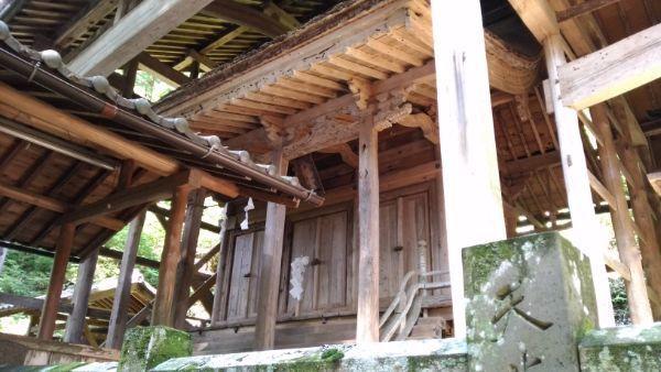 手塚八幡社本殿