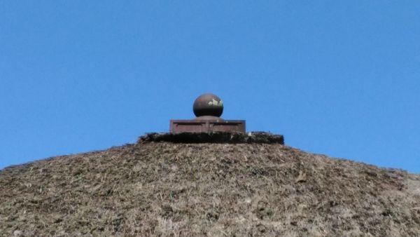 中禅寺薬師堂屋根