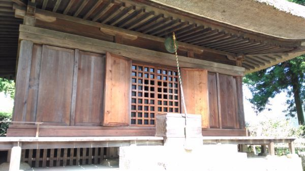 中禅寺薬師堂正面
