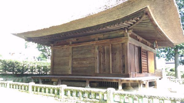 中禅寺薬師堂側面