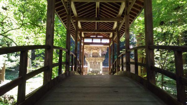 塩野神社太鼓橋