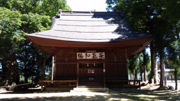霧原大元神社拝殿