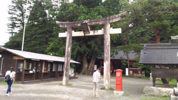 出羽三山神社鳥居