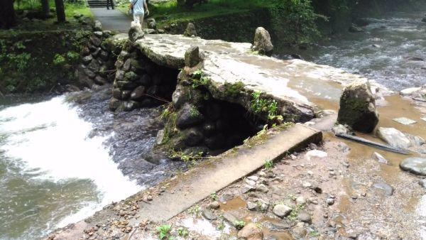 須賀の滝の橋