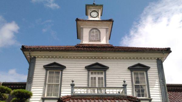 旧西田川郡役所2階