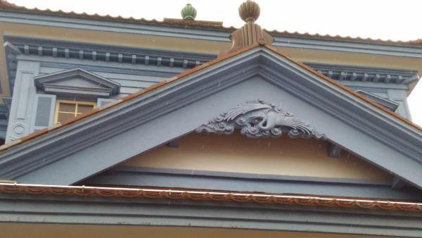 旧鶴岡警察署庁舎破風