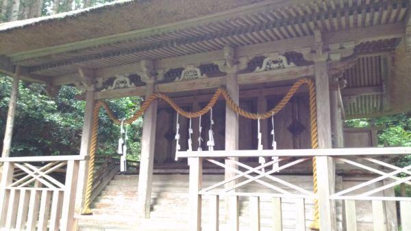 水上八幡神社本殿