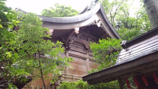西奈弥羽黒神社本殿