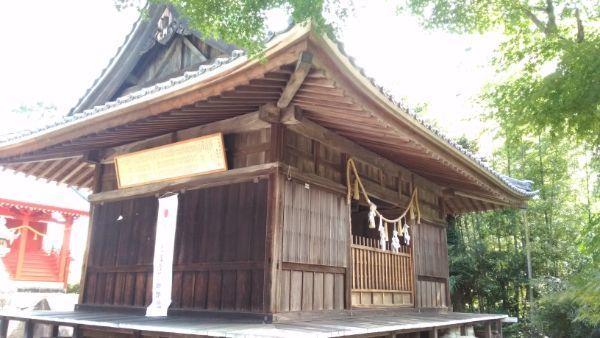 八所神社拝殿