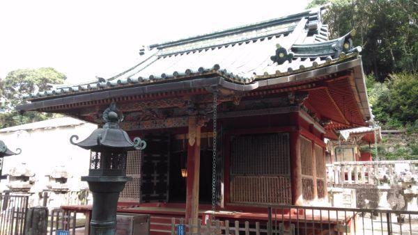 滝山東照宮拝殿