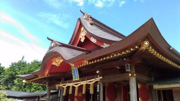 岩津天満宮拝殿