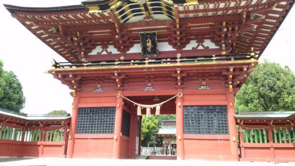 伊賀八幡宮随神門