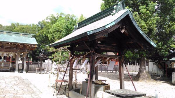 伊賀八幡宮手水舎