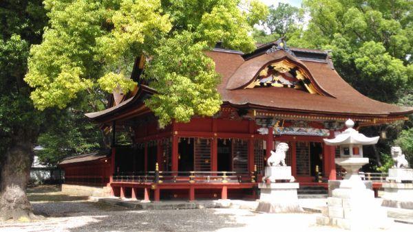 伊賀八幡宮拝殿