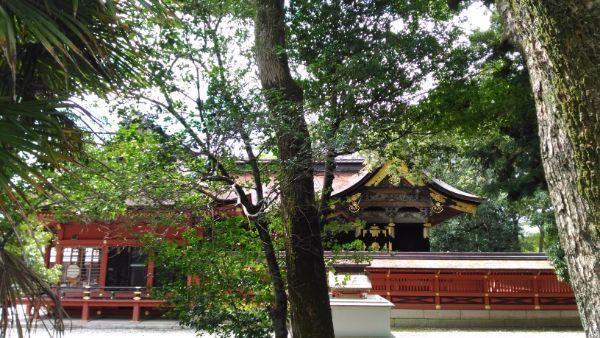 伊賀八幡宮社殿
