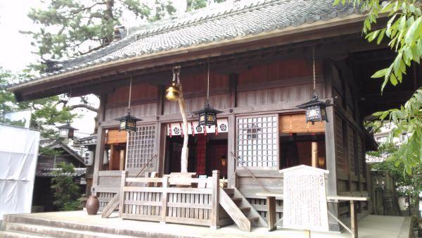 菅生神社拝殿