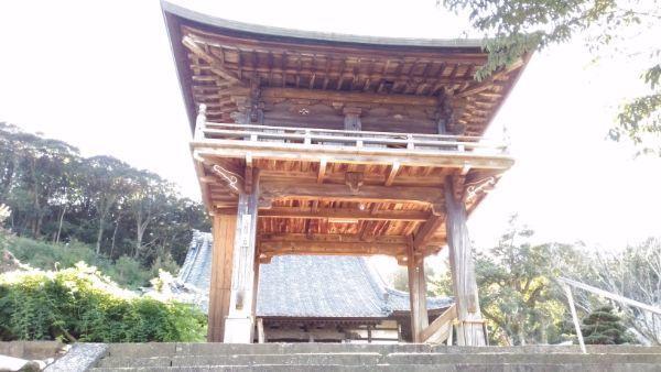 宝蔵寺鐘楼門