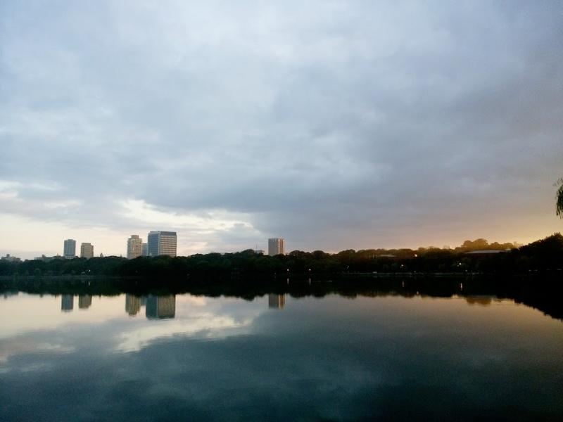 大濠公園の朝