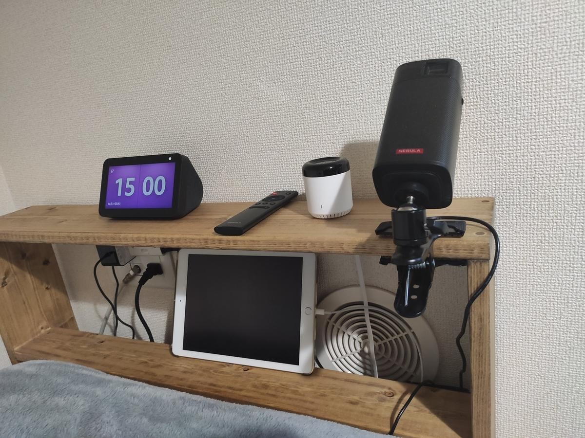 Echo Show 5 と Anker のプロジェクター