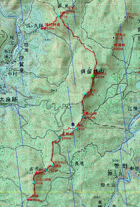 20120414室生火山群地図2日目