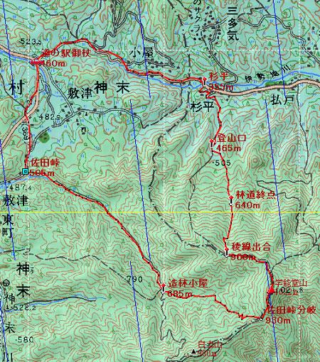 20120414室生火山群地図1日目