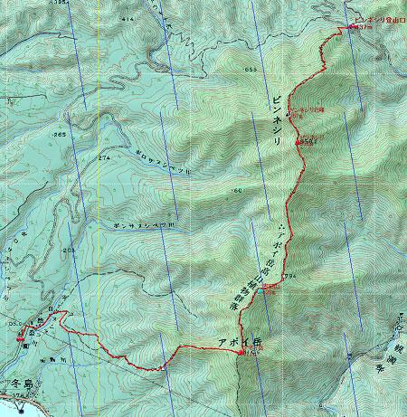H240505アポイ・樽前地図1