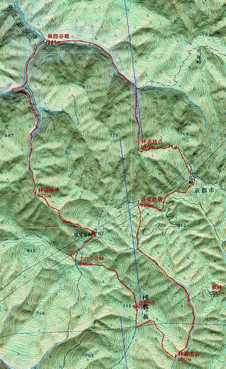 20120519桟敷ヶ岳地図