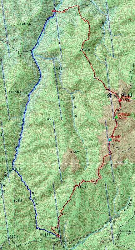 20121020金剛堂・猿ヶ山地図1