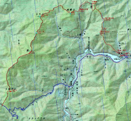 20121020金剛堂・猿ヶ山地図2