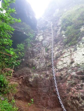 090604kyusyu1由布岳へ真っ垂直