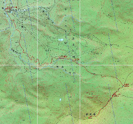 20090716 地図1余市岳