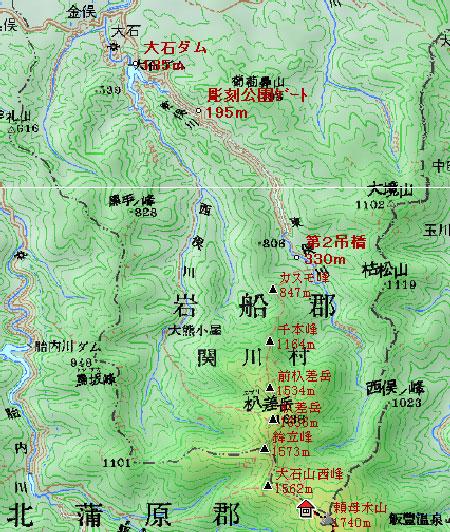 20090806-地図3飯豊連峰