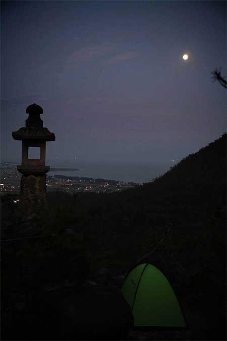 比良の満月31