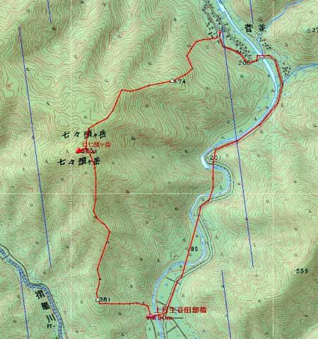 20091107七七頭・赤坂地図1