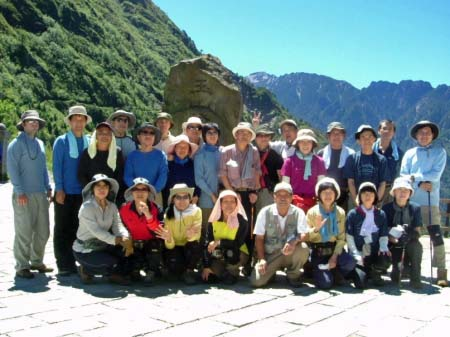 25名の登山隊(塔塔加登山口)