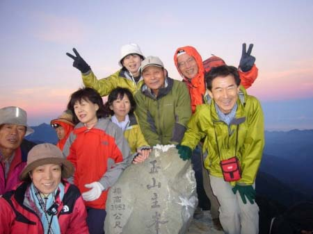 玉山山頂(3,952m)