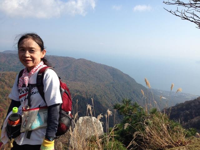ヤケオ山への登りの絶景ポイント