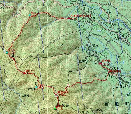 20110402藤原岳地図