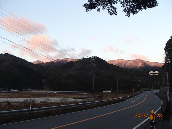 131226-140102kumanokodo1 阿曽付近より雪の台高